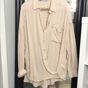 Free People Hidden Valley Button Down